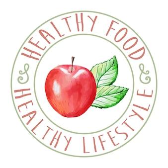 Alimentos saludables de Apple