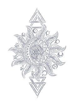 Alquimia signo mágico