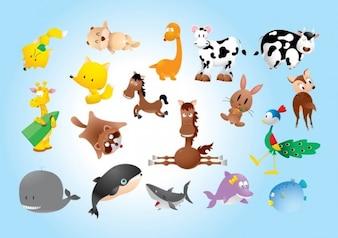 animales comics
