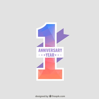 Aniversario de fondo