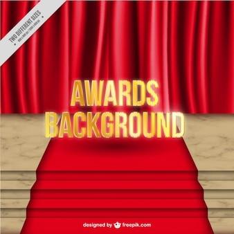 Antecedentes Premios de la alfombra roja