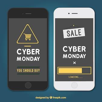Aplicación de lunes cibernético