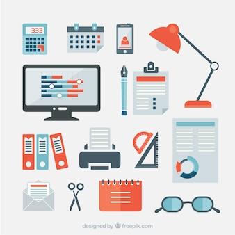 Artículos de oficina de negocios