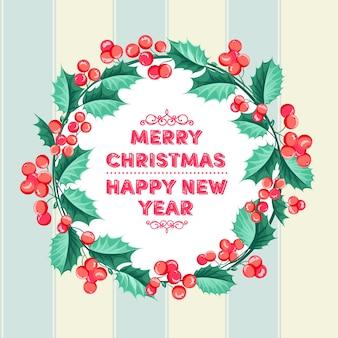 Asombrosa guirnalda de navidad