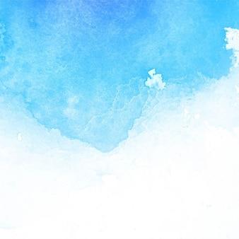 Asombrosa textura de acuarela, azul claro
