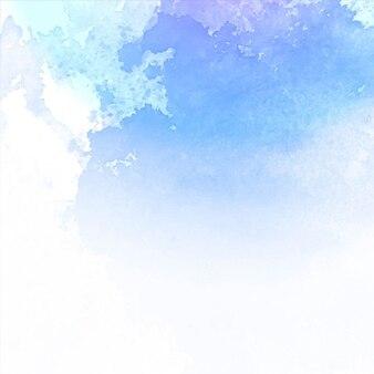 Asombrosa textura de acuarela, tonos azules