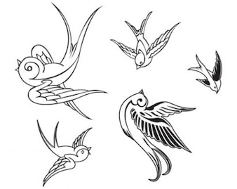 aves vectoriales