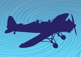 avión silueta