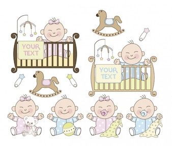 Baby shower de niño y niña