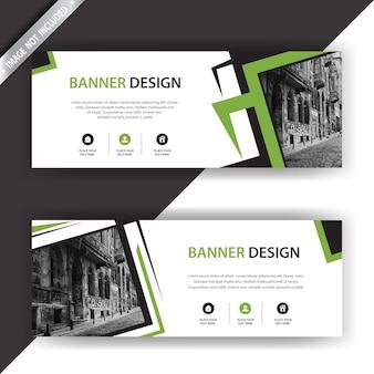 Banner con diseño moderno