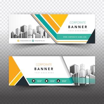 Banner de negocios creativo