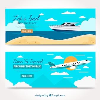 Banner viaje de verano