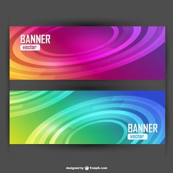 Banners abstractos gratis