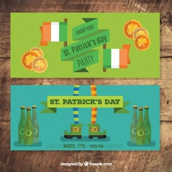 Banners bonitos del día de San Patrick