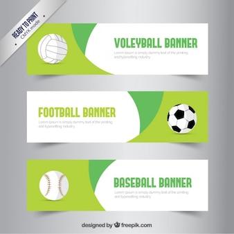 Banners de deporte