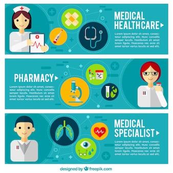 Banners de farmacia