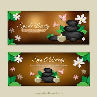 Banners de spa y belleza
