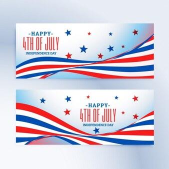 Banners del 4 de julio