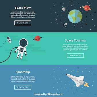 Banners del espacio