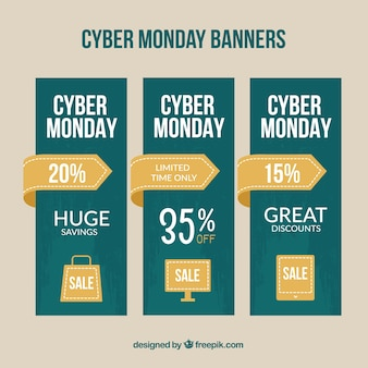 Banners del lunes cyber