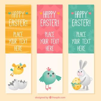 Banners lindos de Pascua