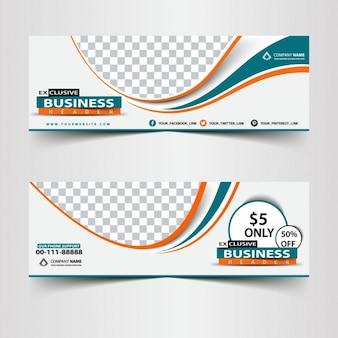 Banners profesional de negocios