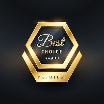 Best choice etiqueta de lujo
