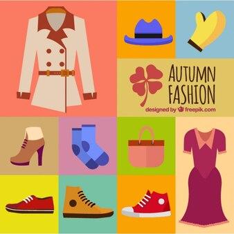 Bonita ropa para la temporada de otoño