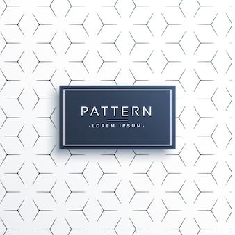 Bonito patrón decorativo geométrico