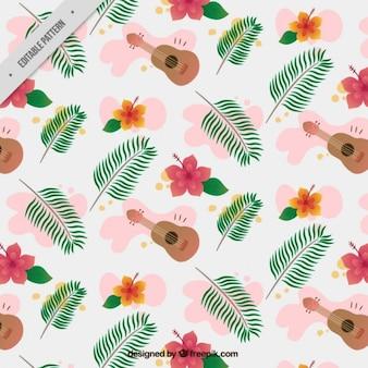 Bonito patrón hawaiano