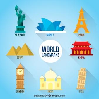 Bonitos monumentos del mundo