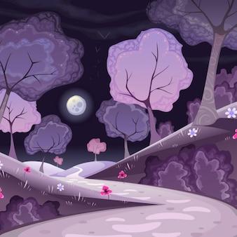 Bosque violeta
