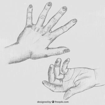 Bosquejo a mano