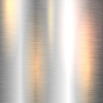 Brillante fondo de metal
