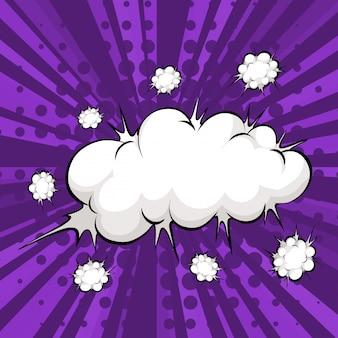 Burbuja de nubes