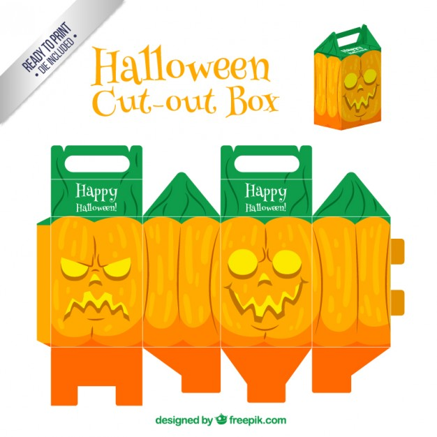 Caja de Halloween Cut-Out