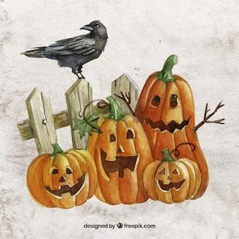 Cuervo descargar iconos gratis - Calabazas de halloween pintadas ...