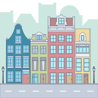 Calle de una ciudad