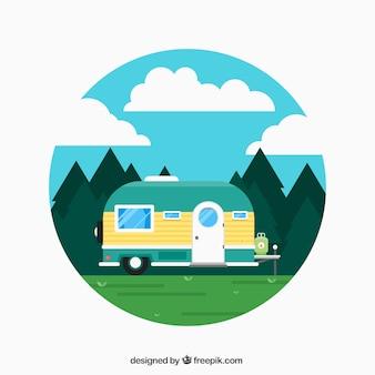 Caravana vacaciones