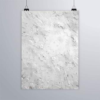 Cartel con textura de pared