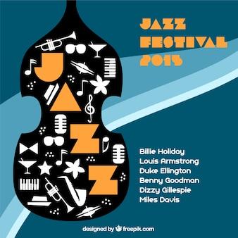 Cartel de festival de Jazz