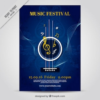 Cartel de festival de música