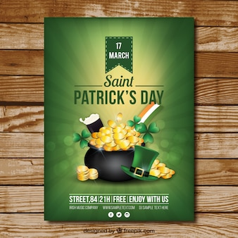 Cartel del día de San Patrick