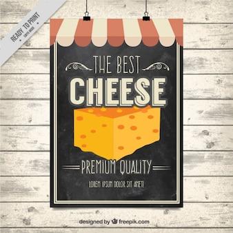 Cartel del mejor queso