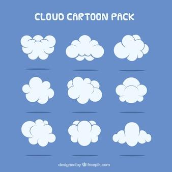 Cartoon Nube Paquete