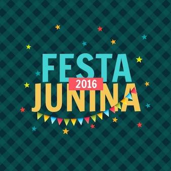 Celebración de la fiesta junina del 2016