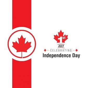 Celebración del 1 de julio  del día de la independencia canadiense