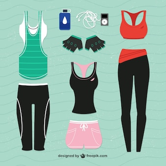 Chandals para fitness