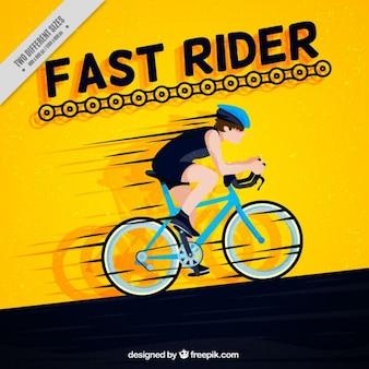 Cicliste veloz
