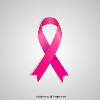 Cinta rosada para el cáncer de mama